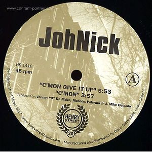 JohNick - C'mon Give It Up (henry street music)