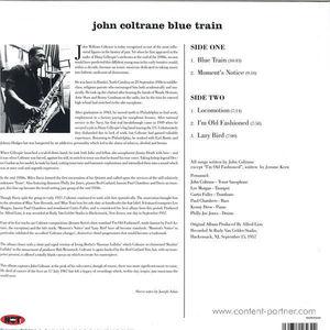John Coltrane - Blue Train (180g Picture Disc)