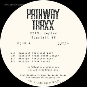 Kepler - Scarlett Ep (Pathway Traxx)