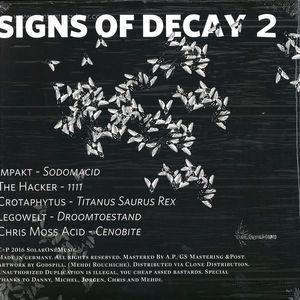Legowelt, Impakt, The Hacker, Chris Moss - Signs of Decay 2