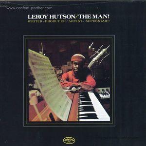 Leroy Hutson - The Man! (LP reissue) (Pias Coop/Acid Jazz)