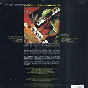 Leroy Hutson - The Man! (LP reissue)