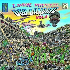 Linval Thompson - Dub Landing Vol.2 (2LP+Poster) (Greensleeves)