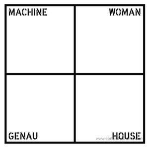 Machine Woman - Genau House (Kassem Mosse Remix) (Where To Now? Records)