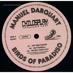 Manuel Darquart - Birds Of Paradiso (Childsplay)