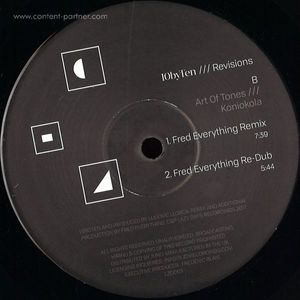 Martin Iveson / Jimpster / Art Of Tones/ - 10 By Ten /// Revisions (lazy days)