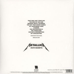 Metallica - Death Magnetic (2LP)