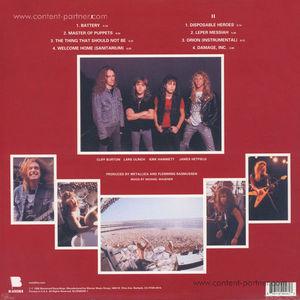 Metallica - Master of Puppets (LP)