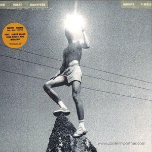 Mount Kimbie - Love What Survives (Ltd. White 2LP/Gatef (Warp)