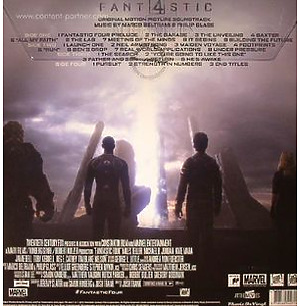 O.S.T. - Fantastic Four (2015) (Black/White marb.