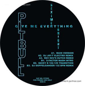 PITBULL/ NE-YO/ AFROJACK/ NAYER - GIVE ME EVERYTHING (TONIGHT) (white)