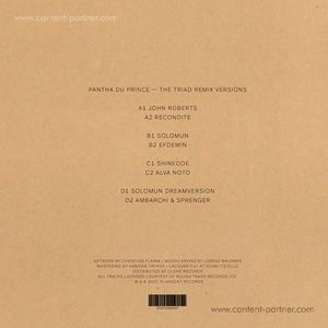 Pantha du Prince - The Triad Remix Versions