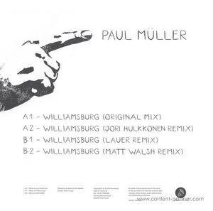 Paul Müller - Williamsburg (Hulkkonen, Lauer & M.Walsh