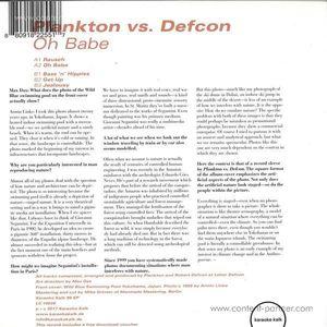 Plankton Vs. Defcon - Oh Babe