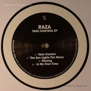 Raza - Take Control Ep ( Black Vinyl)