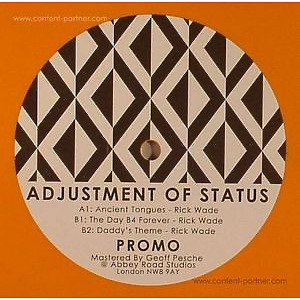 Rick Wade - Adjustment Of Status EP (landed records)