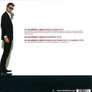 Robin Thicke - Blurred Lines (Laidback Luke Remix)