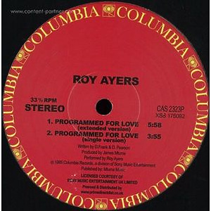Roy Ayers - Programmed For Love (Columbia)