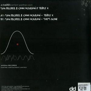 San Proper & Ohm Hourani - Triple X / She's Gone (VINYL ONLY)