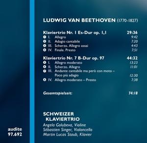 Schweizer Klaviertrio - Complete Works For Piano Trio Vol.1