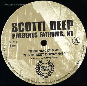 Scotti Deep - Presents Fathoms, NY (henry street music)