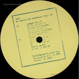 Shed - No Repress But Warehouse Find EP (The Final Experiment)