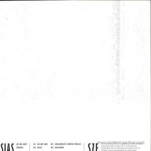 Sias - As We Are EP