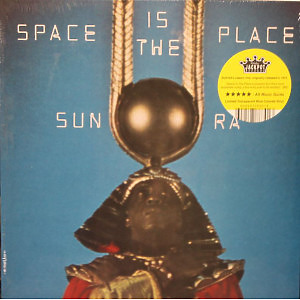 Sun Ra - Space Is the Place (Ltd. Blue Transp. Vi (Jackpot Records)