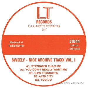 Sweely - Nice Archive Traxx Vol. 1 (Lobster Theremin)