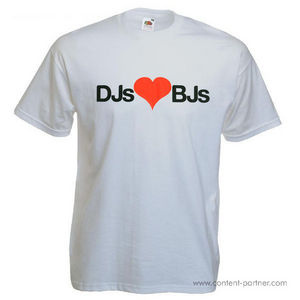T-Shirt + Sticker - DJs BJs (M) (FAKE)
