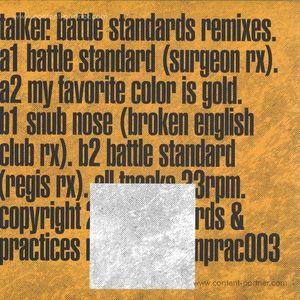 Talker - Battle Standards Remixes (limited silver