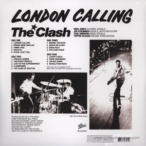 The Clash - London Calling (2LP 180g Vinyl Legacy)