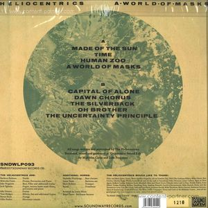 The Heliocentrics - A World Of Masks (Ltd. Golden Vinyl/Gate