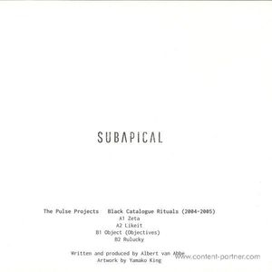 The Pulse Projects - Black Catalogue Rituals - 2004-2005