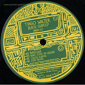 Tiago Walter - Black Gum EP (Pager Records)