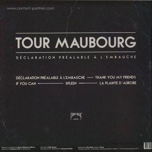 Tour Maubourg - Declaration Prealable á l'embauche