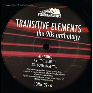 Transitive Elements - The 90s Anthology (Down Da Mountains)