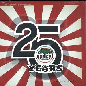 Various Artists - 25 Years Of Bonzai Records 5lp Boxset (Bonzai Classics)
