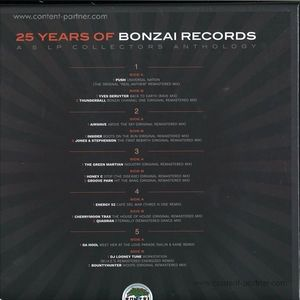 Various Artists - 25 Years Of Bonzai Records 5lp Boxset