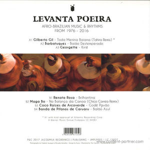 Various Artists - Levanta Poeira (Compiled by Tahira)