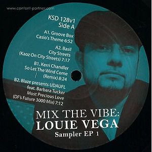 Various Artists - Louie Vega Mix The Vibe (King Street Sounds)