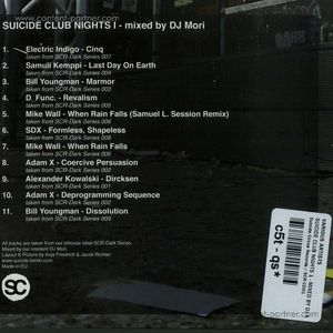Various Artists  - Suicide Club Nights I - Mixed By DJ Mori