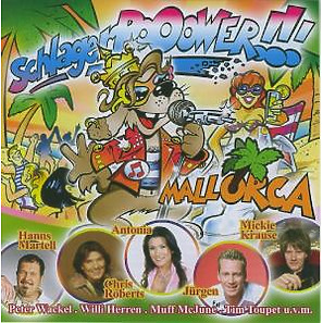 Various - Schlager Pooower Mallorca (Rieger Music Group)