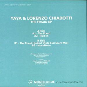 Yaya & Lorenzo Chiabotti - The Fraud EP