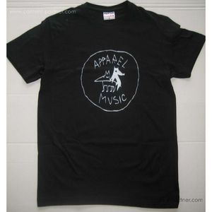 apparel t-shirt - black, size m (apparel music)