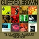 brown,clifford 13 classic albums 1954-1960