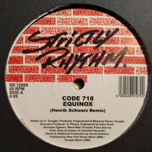 code 718 - equinox 2009 (henrik schwarz rmx) (strictly rhythm)