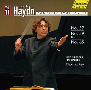 fey,thomas/heidelberger sinfoniker - sinfonien 57,59+65 (h?nssler)