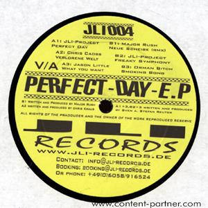 jli project & chris chaoss & orman bitch - perfect day (jli records)