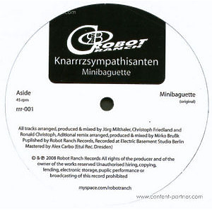 knarrrzsympathisanten - minibaguette (robot ranch records)